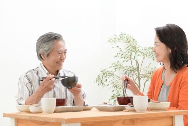 夫婦の食事